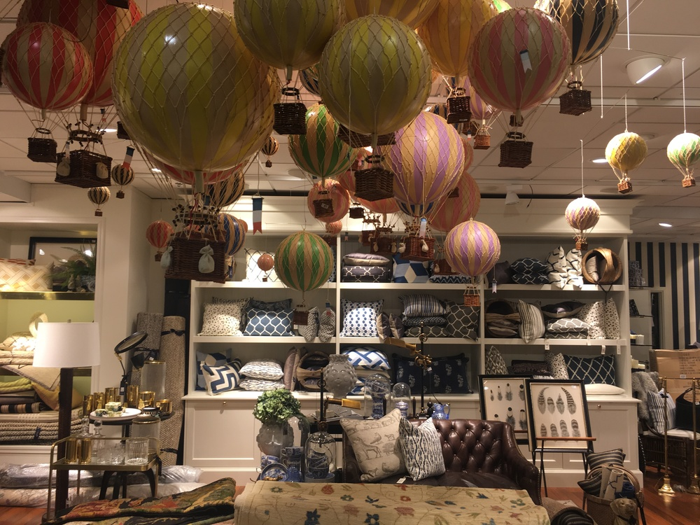 The homeware floor at Swedish department store NK, Stockholm.