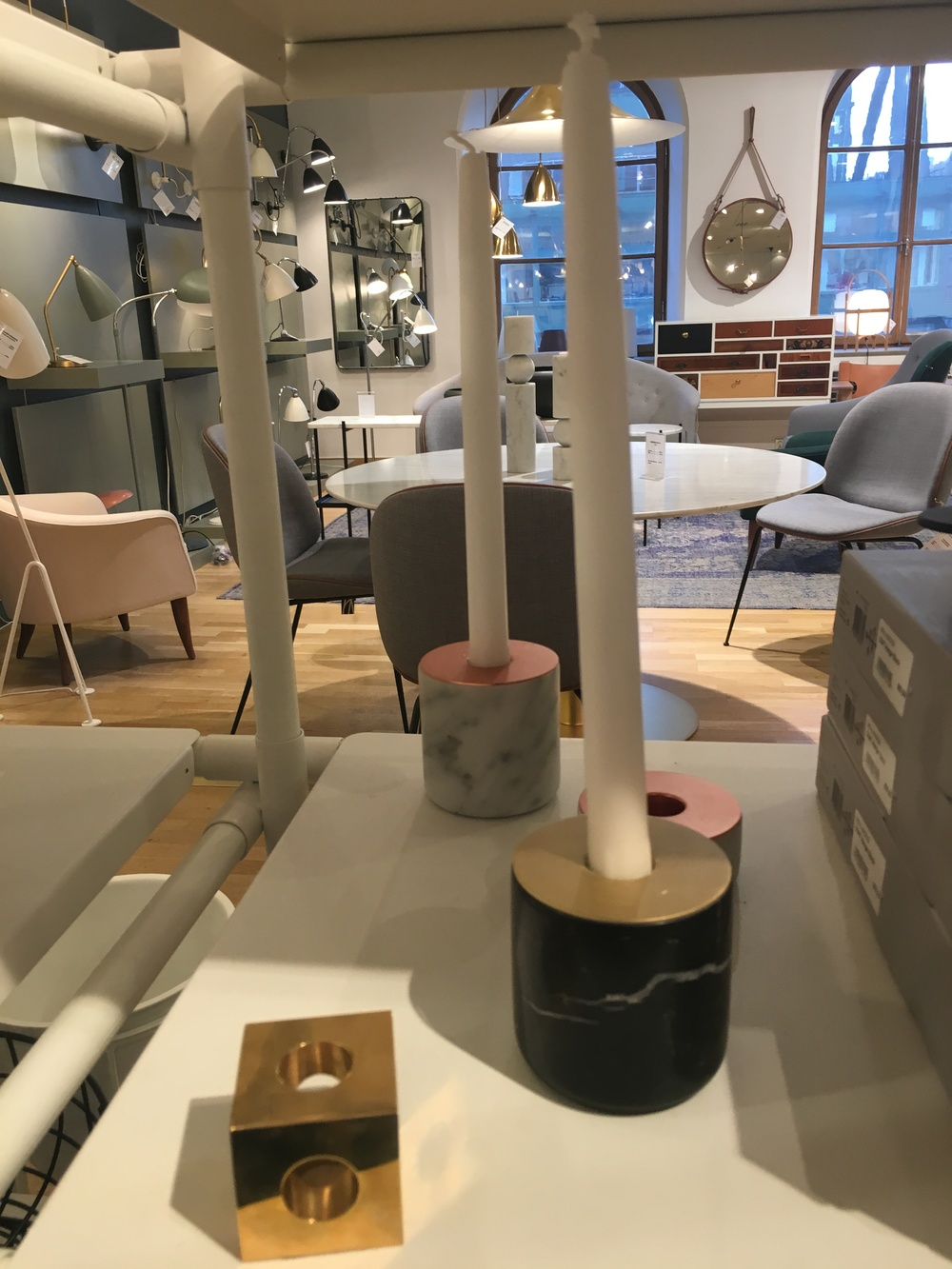 Homeware accessories at NK, Stockholm.