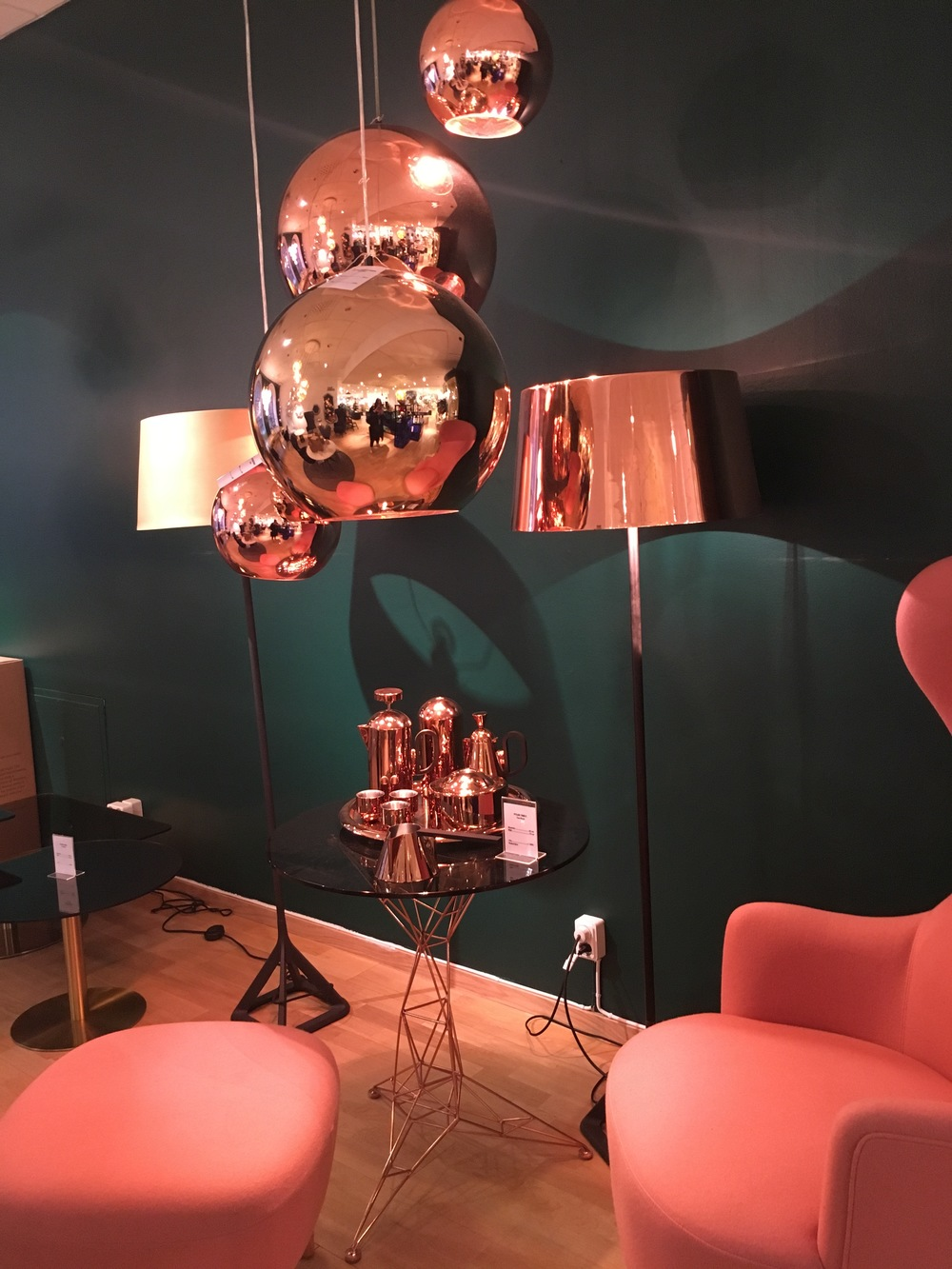 Tom Dixon at swedish department store- NK, Stockholm.