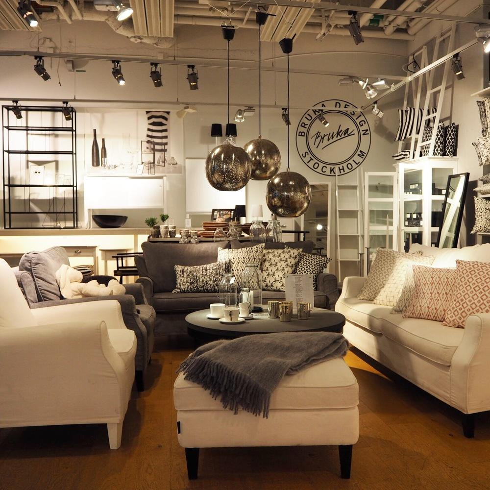 Inside Bruka Design, Stockholm.