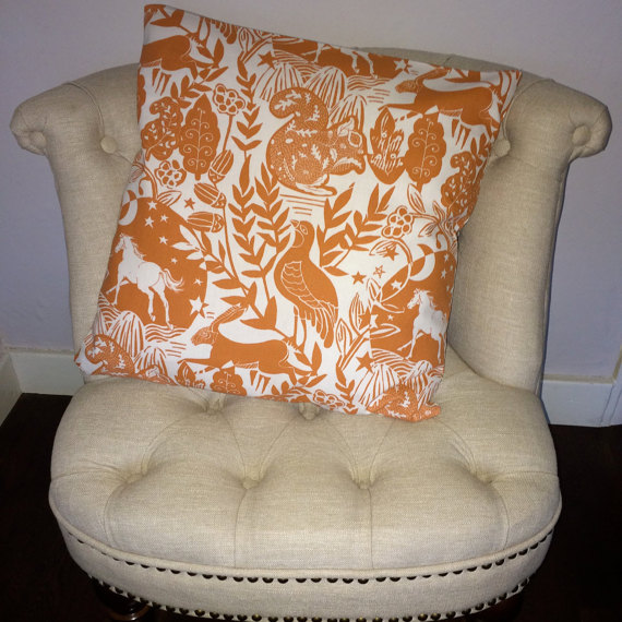 Cushions on etsy- marengo designs £15 each