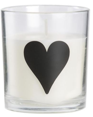 HEART CANDLE £1.50