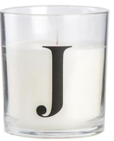 J CANDLE £1.50