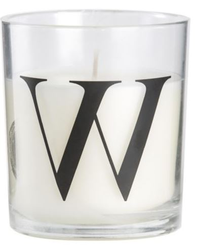 W CANDLE £1.50