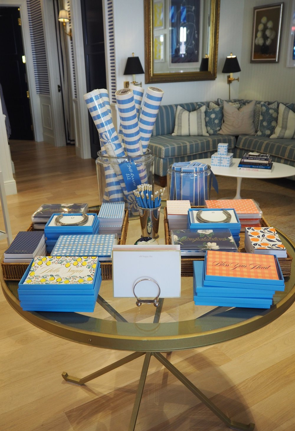 Reese Witherspoon's Draper James Nashville store. Filled with tones of southern charm. Make sure y'all visit.