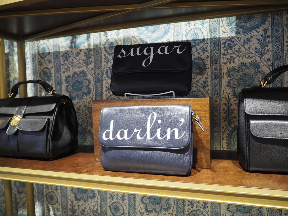 The cutest Sugar & Darlin' clutch bags at Draper James. Lifestyle brand by Reese Witherspoon, in Nashville Tennessee. Click here for more info.