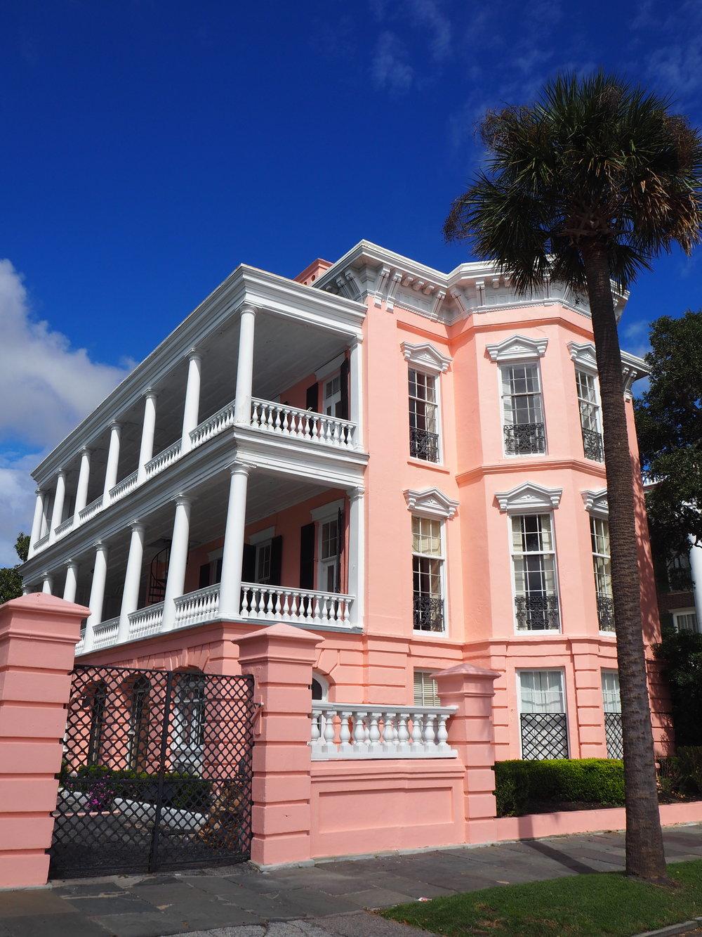 Rainbow row- Charleston, South Carolina.