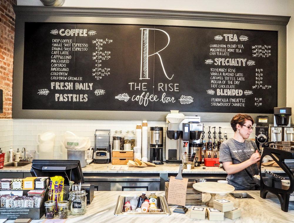 THE RISE COFFEE BAR, CHARLESTON