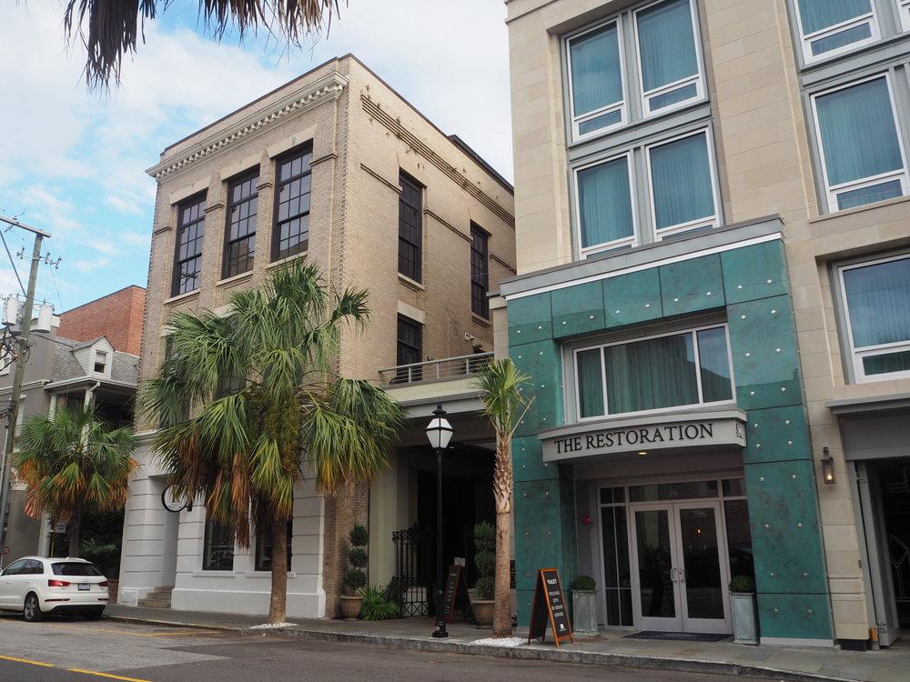The Restoration Hotel, Charleston. The best hotel in Charleston.