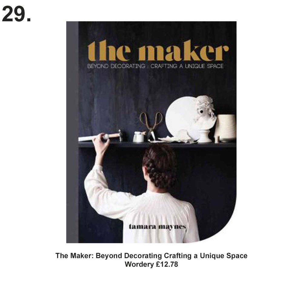 The Maker: Beyond Decorating Crafting a Unique Space book £12.78