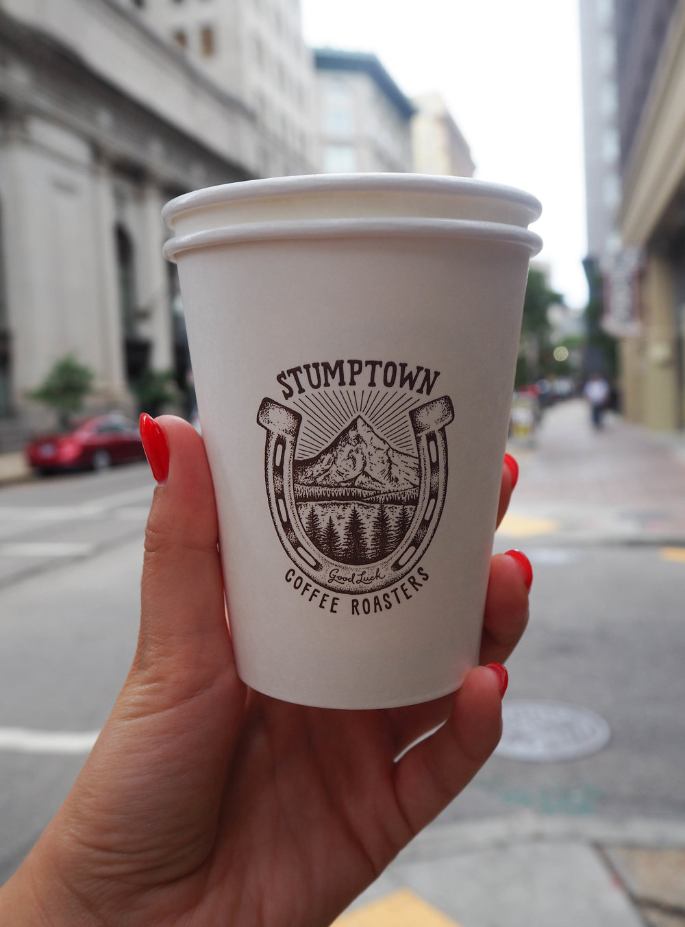 Stumptown coffee in New Orleans