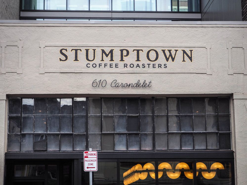 Stumptown coffee shop in New Orleans