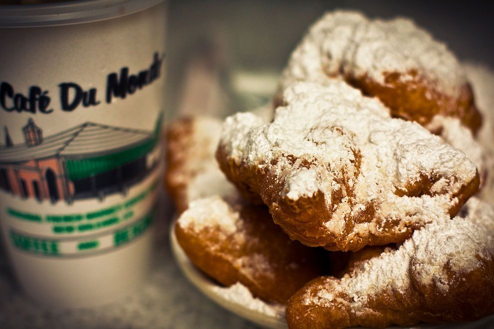 Beignets at Cafe Du Monde- New Orleans