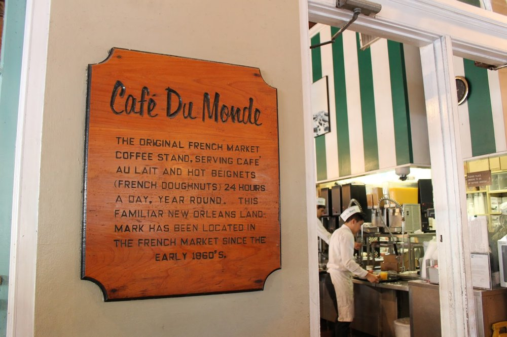 Cafe Du Monde in New Orleans.