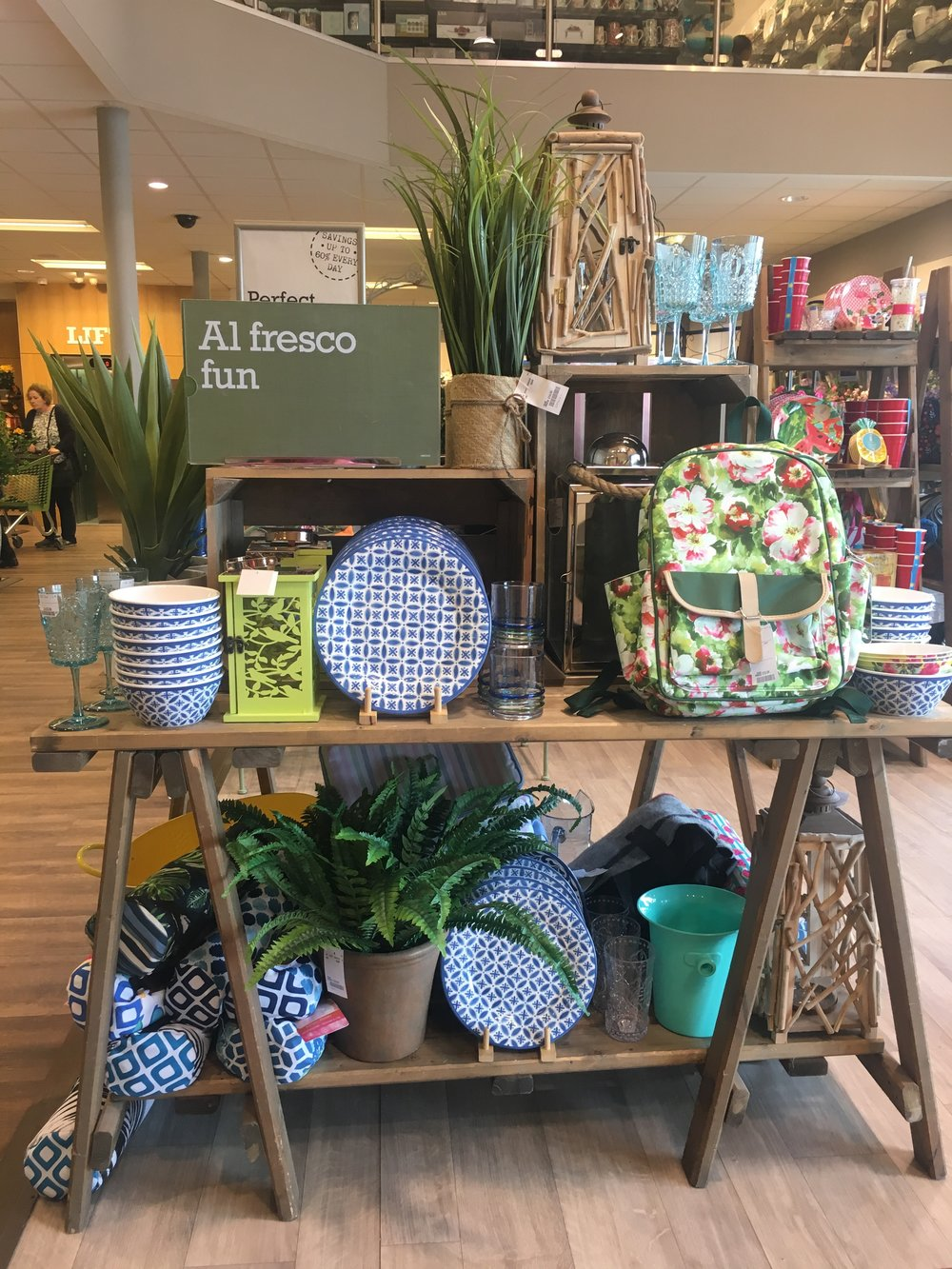 All things green and gardeny at homesense.