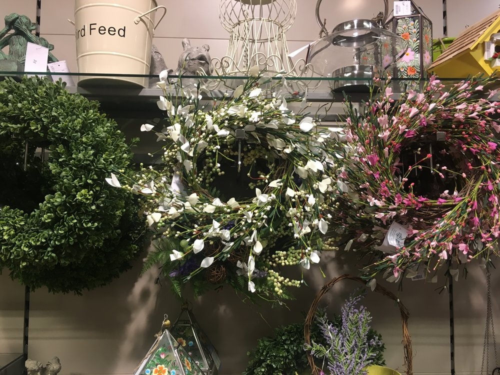 faux foliage reefs at Homesense.