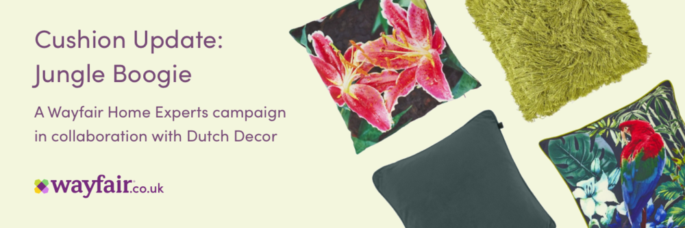 Wayfair blogger challenge; jungle boogie