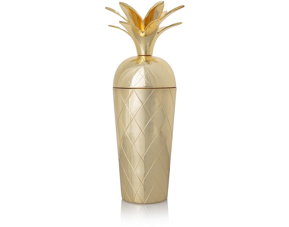 Oliver Bonas Pineapple cocktail shaker £34