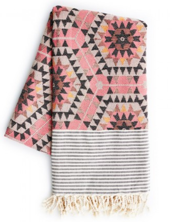 Rose Honey comb throw- Graham and Green £89
