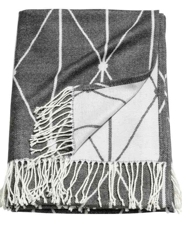 H&M Jacquard weave blanket £24.99