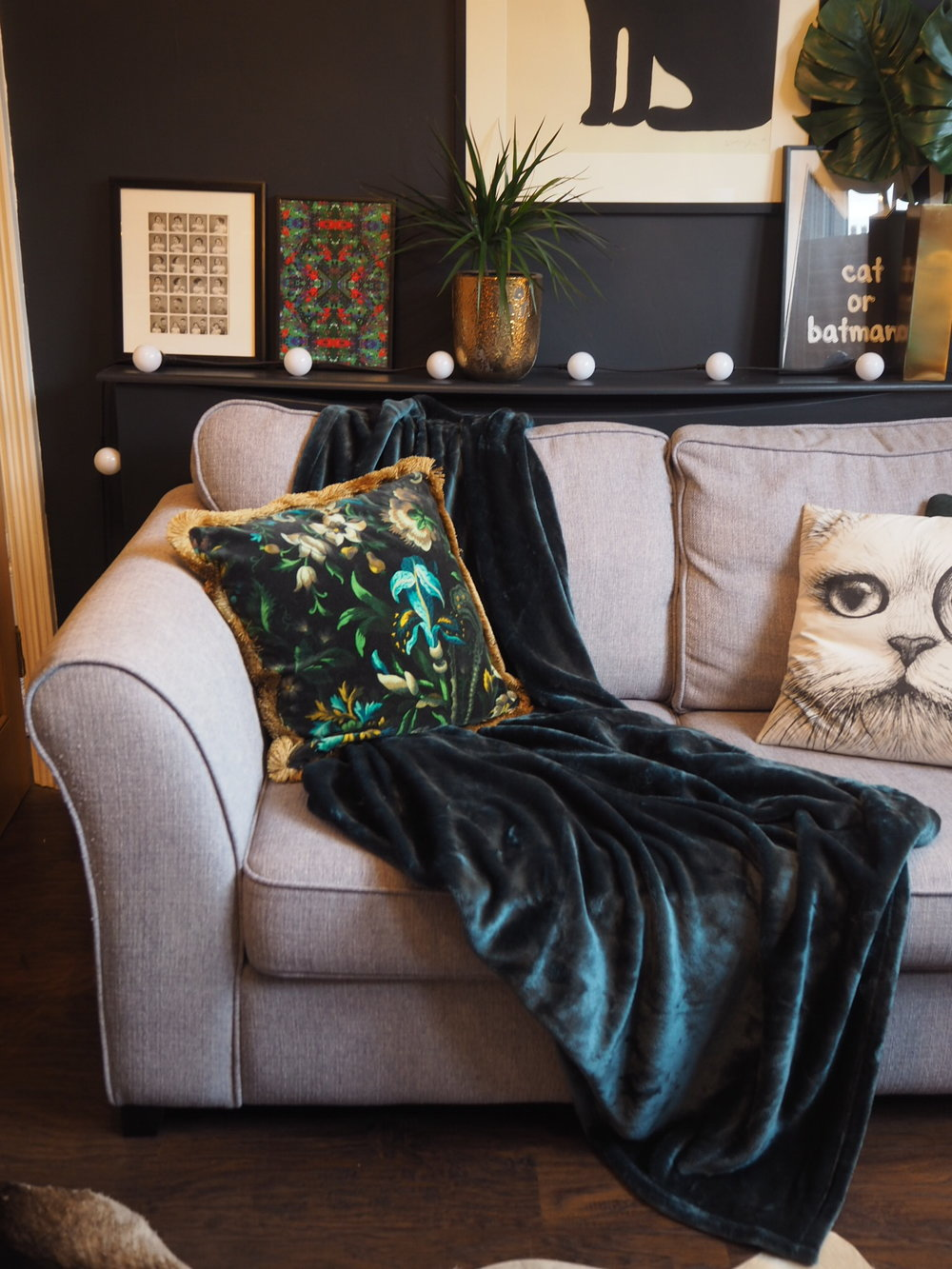 Cosy Autumn update with a plush throw from Wayfair
