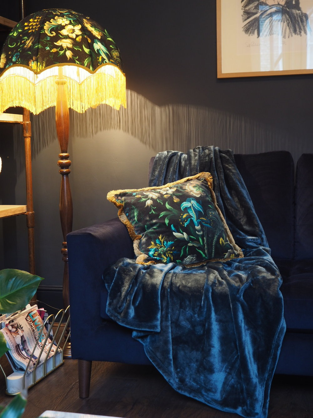 House of hackney dark lounge and cosy wayfair throw