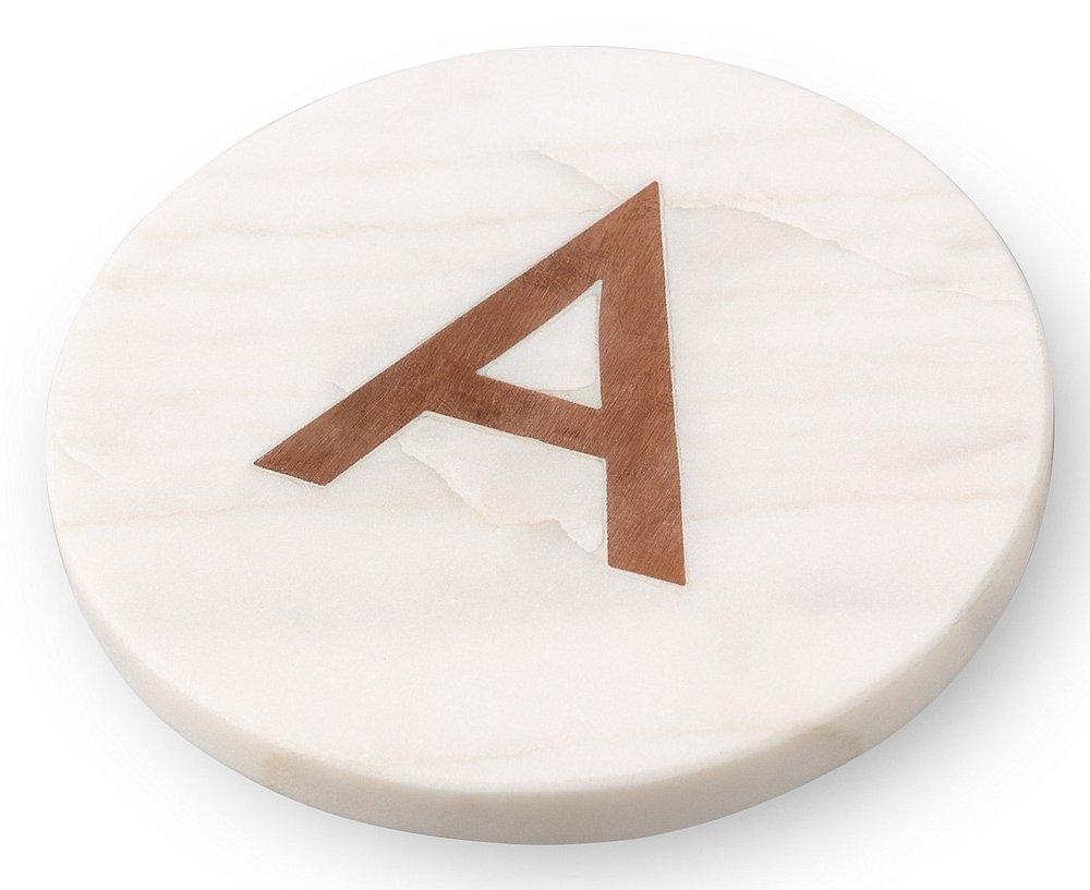 Alphabet coaster £10