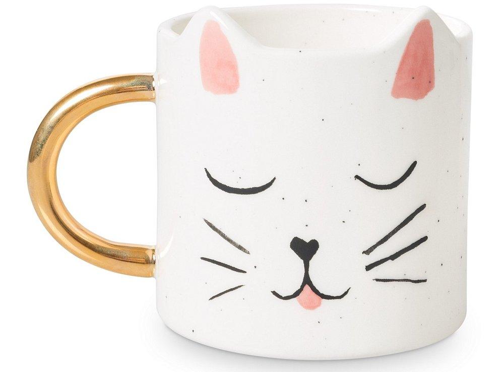 Cat mug £12