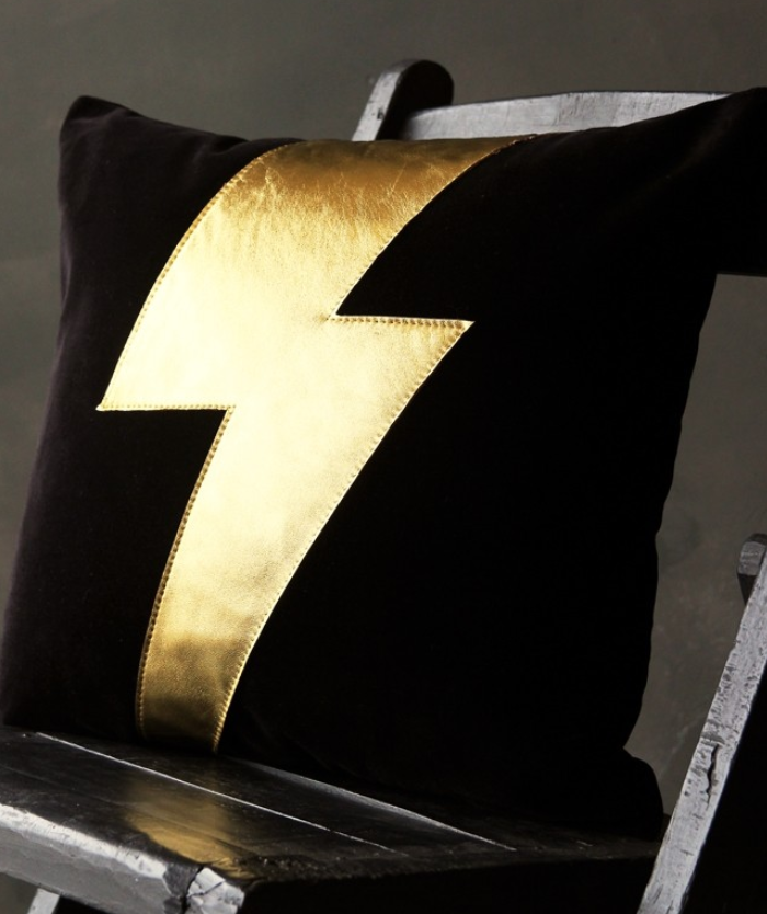 Ziggy bolt cushion £135