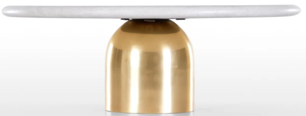 Marble & Brass cake stand £45