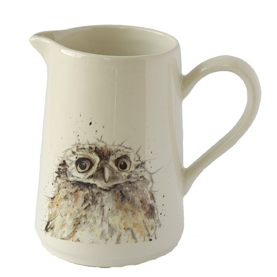 Owl stoneware jug £16