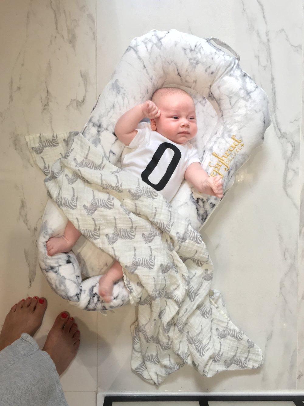 Sleepyhead Deluxe+ marble printed baby