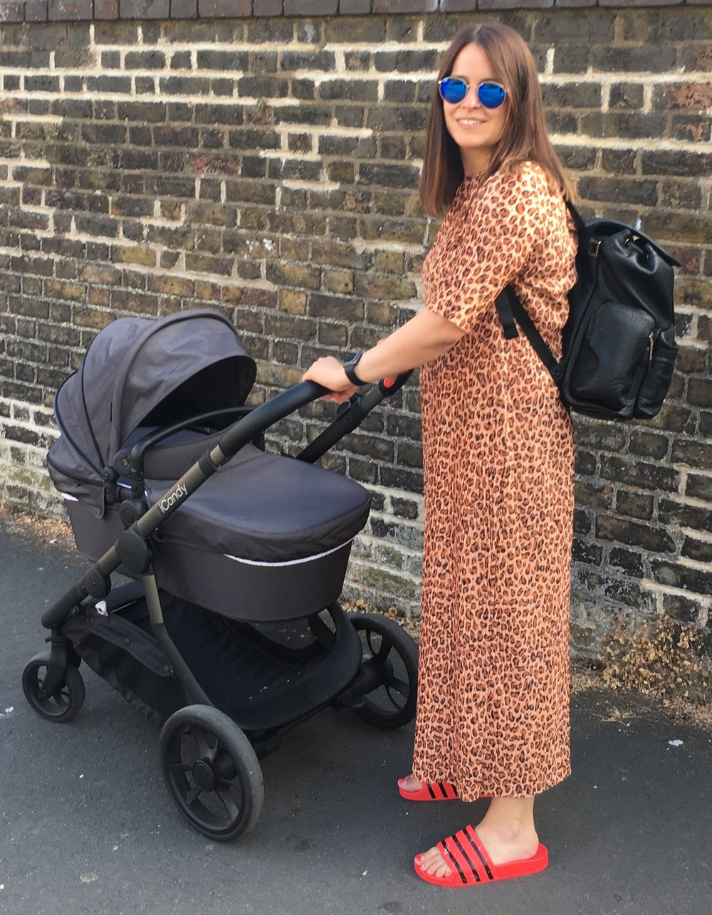 Icandy orange pushchair