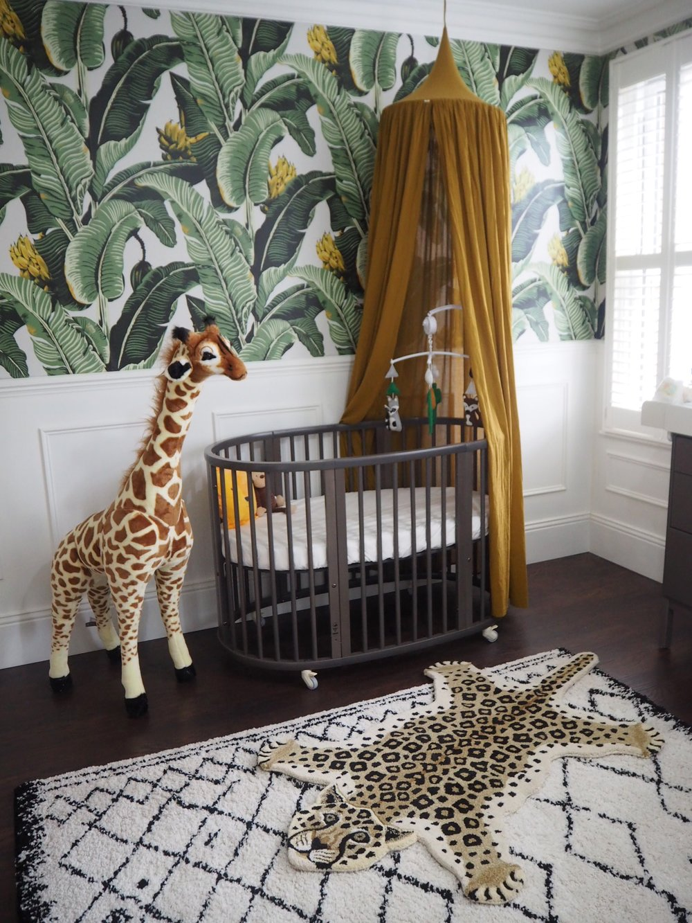 Leopard rug is from   Cotswold trading £149.99