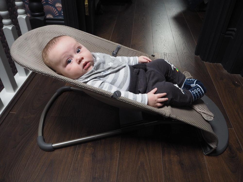 Baby bjorn- bouncer bliss