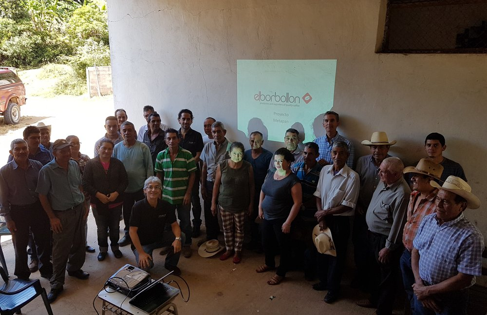 Presenting a project which aims to improve the quality of life for small farmers.