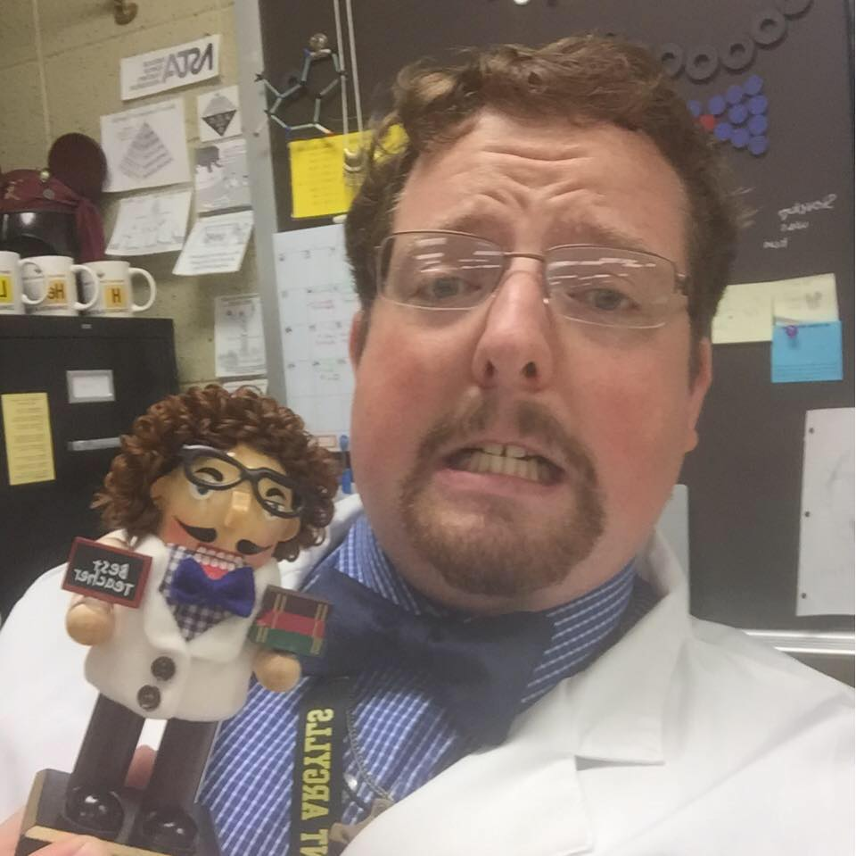 Eric Cale ( @mr_cale_mgusc )  8th Grade Science Teacher