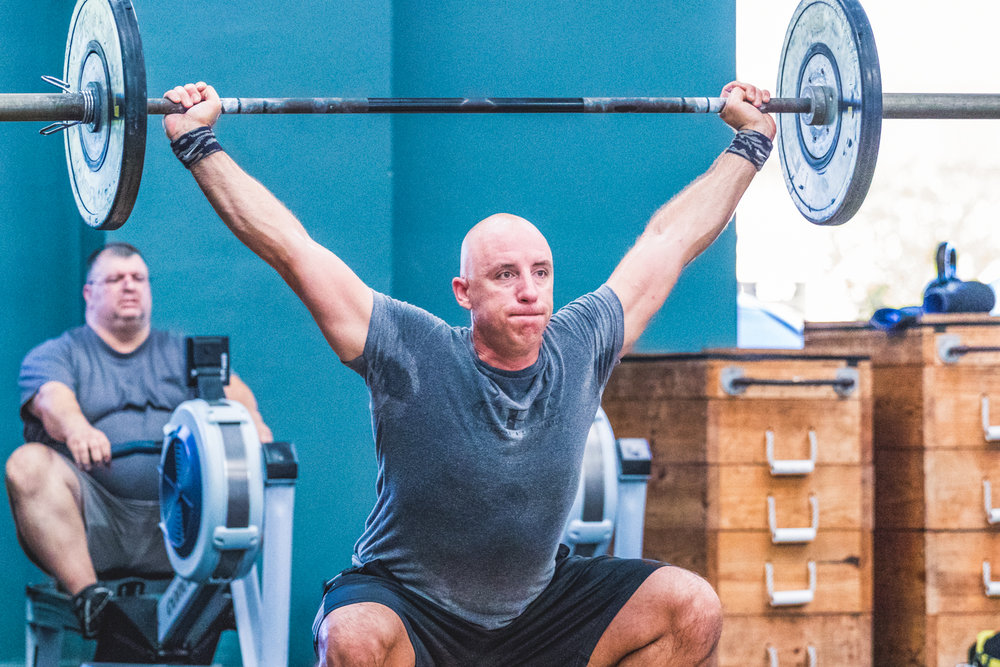Richard Mutterback at CrossFit Vero Beach