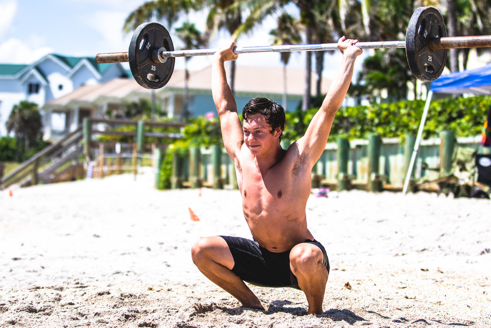 Stephen Short III of  Orchid Island CrossFit