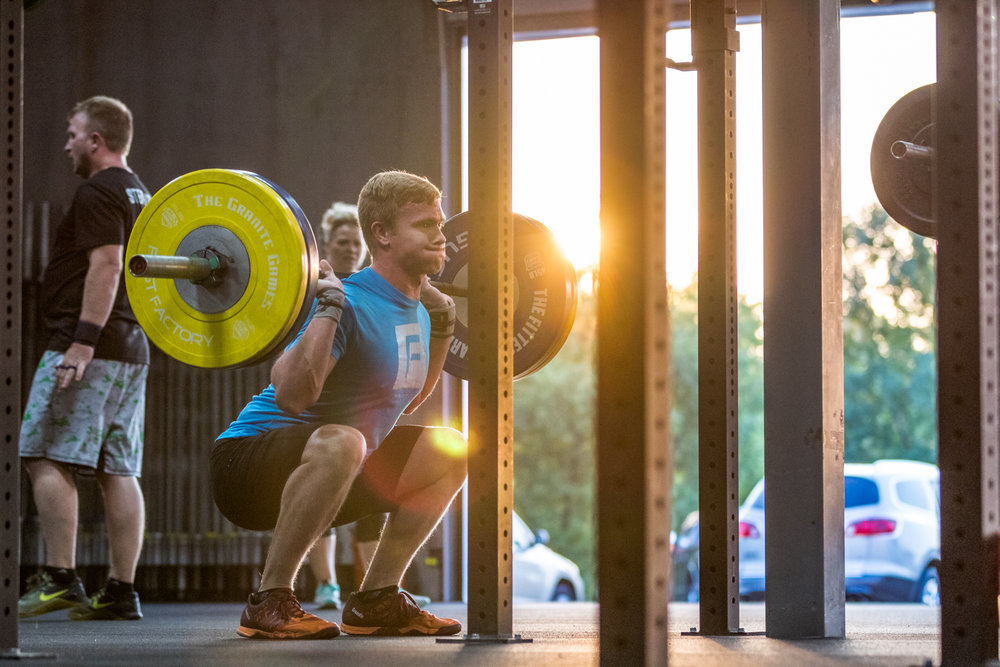Ben Eckberg of  CrossFit Fast Factory