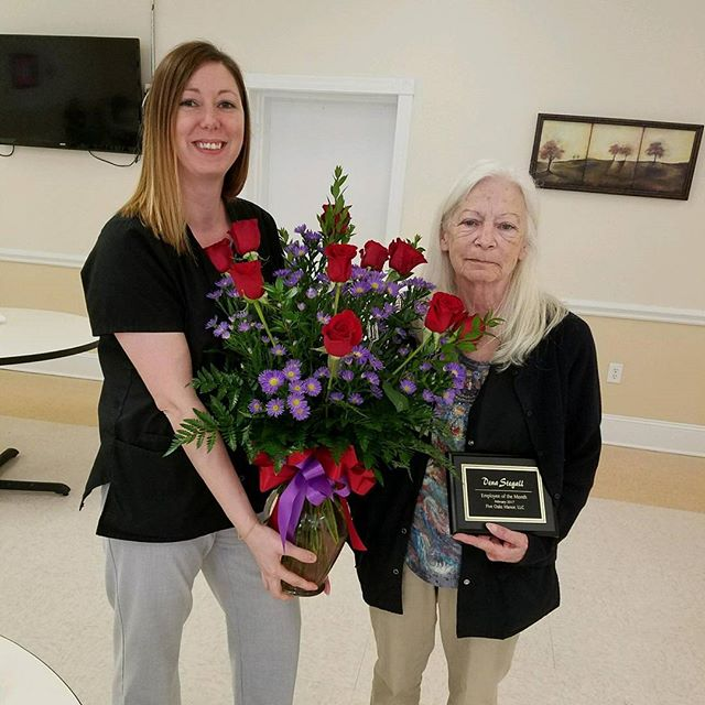 Congratulations to our Employee of the Month for February, Dena! She is the Medical Records Assistant and does a great job. Thanks for all you do, Dena!