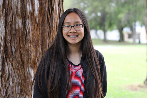 HELLO Key Clubbers! I am Britney Nguyen, one of your 2017-2018 Sophomore Class Director! I am looking forward to working with you all and being a part of Key Club :). About me is I enjoy reading books and adventuring out with my friends, and I really love to eat out! Particularly, KBBQ. I am very excited for this term and to especially, meet new people. So, if you see me, don't be afraid to wave hi!