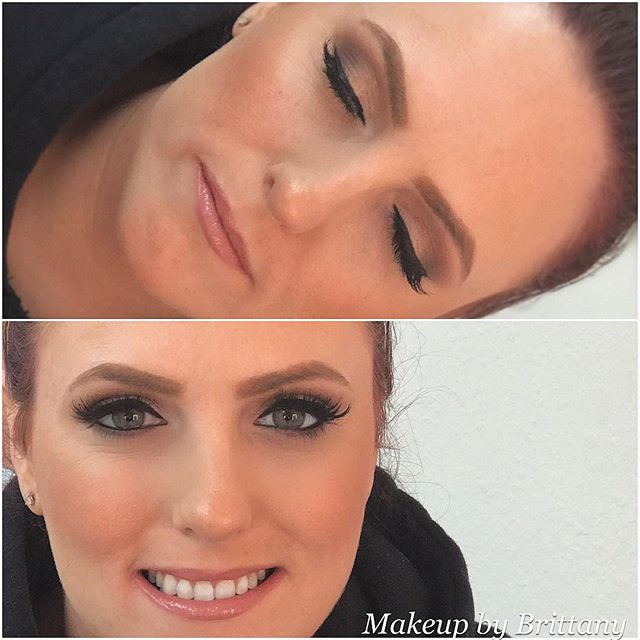 A fun makeup today on a super fun client! Tomorrow is a day slammed with makeup and private lessons. Schedule yours for Valentine's Day online at www.gildbeautybar.com