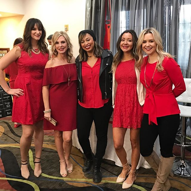 We had an absolute blast at the Go Red Heart Health Luncheon ❤️So incredibly thankful for Karen, Eleah and Joni for orchestrating such an amazing event! Also, thank you to @heatherarmstrongphotography @pilatesandco_redding @ridecarousel @tortysfitness for joining us at our table! ❤️