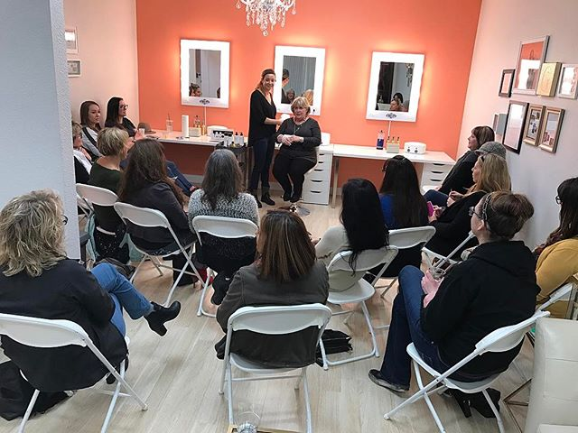 The Chemical Peel Party was a hit! Our Gild Girl Christen did a great job demonstrating and teaching the process of getting a PCA Peel. We are SO excited to have these peels on the service list and you can officially schedule them online now! www.gildbeautybar.com