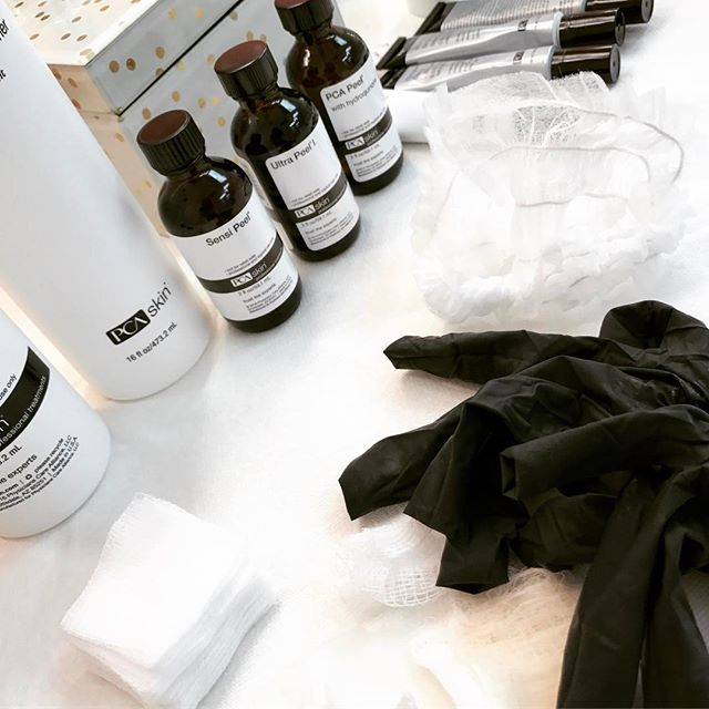 What a busy day at Gild Beauty Bar! So many Waxes, Makeup's, Lashes and Peels! If you haven't tried a PCA Chemical Peel with us yet, now is the time! Schedule online at www.gildbeautybar.com
