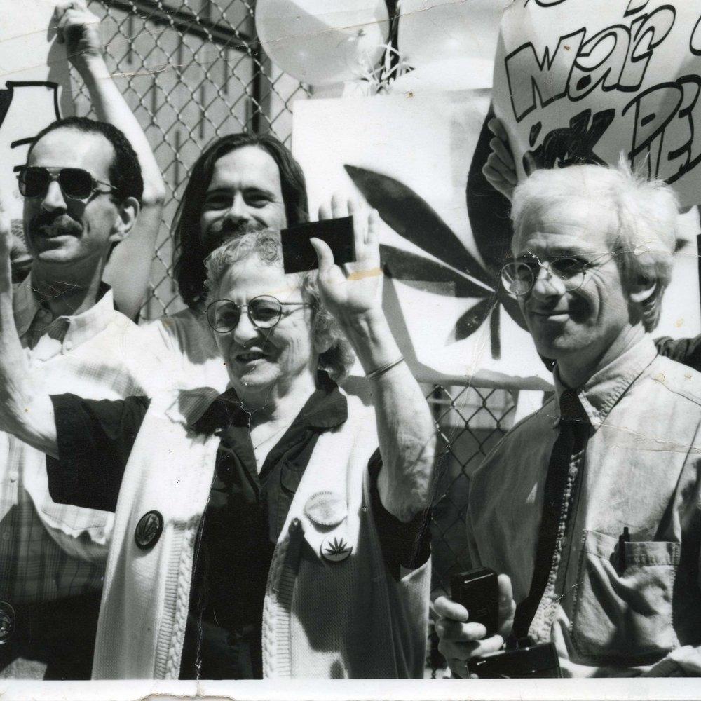 Brownie Mary & Denis Peron.