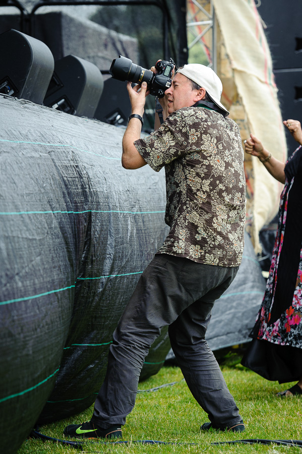 Covering Pasifika festival for Ministry for Pacific Peoples   Photo by: Mark Tantrum