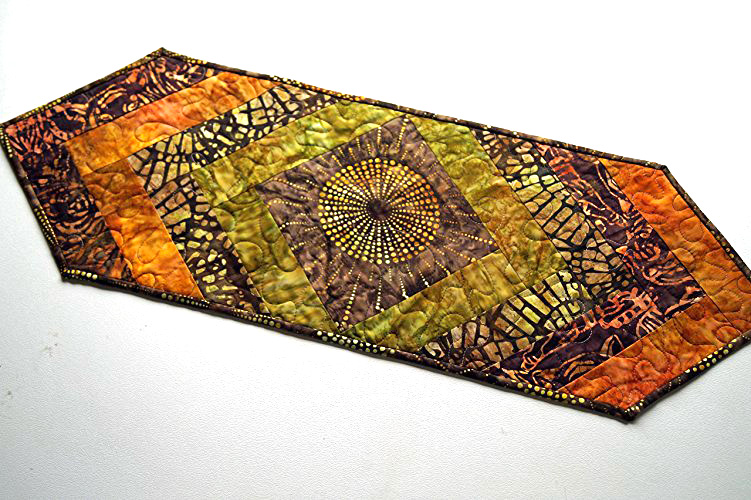 Earth Tones Batik Table Runner.jpg
