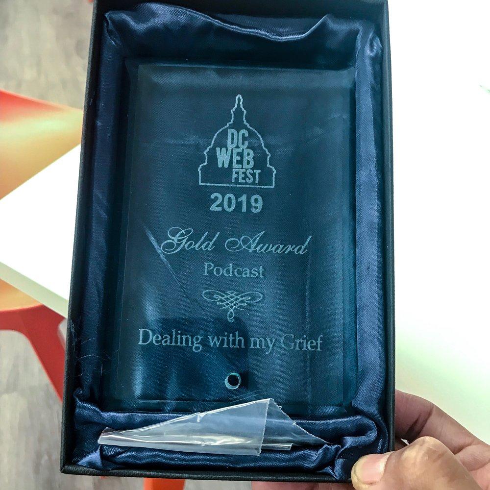 2019 DCWebfest Award.JPG